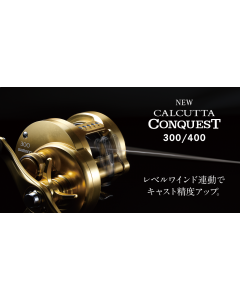 SHIMANO 18 CALCUTTA CONQUEST 400 (Right Handle)