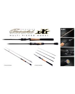 Megabass OROCHI XXX MULTI PIECES MODEL F4-610K 2P (2PIECES MODEL)(Bait Casting)