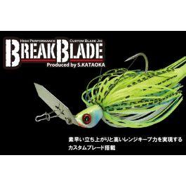 Jackall Break Blade Tungsten 1//4 Oz. Baby Gill 7g